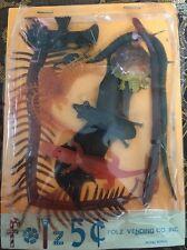 Vintage Rubber Oily Jiggler Lot Hong Kong Vending Bats Bugs And Reptiles