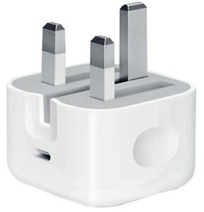 Genuine Official Apple 18W USB-C Power Adapter for iPhone 12 - White