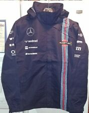 Williams Martini Mercedes Racing Mens Hooded Waterproof Jacket 3XL NWT
