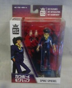 BST AXN Cowboy Bebop Spike Spiegel Articulated Action Figure with Accessories