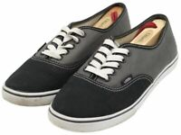 Vans Off The Wall Unisex Men Women Black Gray Casual Sneakers Shoes Size M7 W8.5