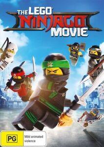 The Lego Ninjago Movie DVD (PAL, 2017) FREE POST