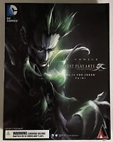 Square Enix DC Comics Variant Play Arts Kai No. 12 The Joker Action Figure (NIB)