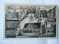 Ansichtskarte Jüterbog 1917 Feldpost mehrere Ansichten