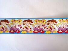 2 Edgings Border Self Adhesive 10, 6cmx10m Pastels Girls 174464 (2 Edgings)