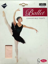 Silky Ballet Dance Pink Tights Girls and Adult Sizes Age 9 to 11