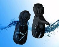 Winter Mittens Ladies Mens 1 Pair Snow Ski Anti Slip Grip Waterproof Zip Pocket