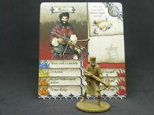 Zombicide Green Horde Kickstarter Exclusive - Rocco - Survivor w/card - CMON