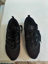 BLOCH SHOES WOMENS EVOLUTION SNEAKERS SIZE US 12 UK 9 BLACK LEATHER/MESH
