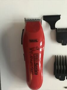 Wahl Lithium Pro Series Cordless Clipper Red
