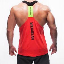 New Arrival Men Gym Muscle Y Back Shirt Tank Top T-shirt Bodybuilding Sport Vest