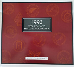 New Zealand - 1992 First Day Covers Pack - (pack contains 14 First Day Covers).
