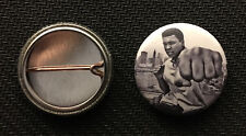 "Muhammad Ali - Knockout - 1"" pin button - Buy 2 Get 1 Free"