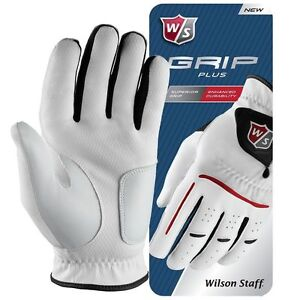 Wilson Staff Grip Plus Golf Glove - ALL SIZES FOR LEFT AND RIGHT HANDED