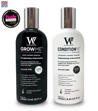 Hair Loss Help for Women & Men  - Watermans Grow Me Shampoo and Conditioner