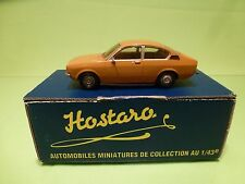 HOSTARO 44 BUILT KIT RESIN + METAL OPEL KADETT C COUPE - 1:43 - GOOD IN BOX
