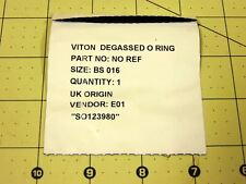 Waters Alliance Acquity Viton Degassed O Ring Bs 016 Qty 1 Sealed New