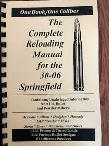 2016 THE COMPLETE RELOADING MANUAL FOR THE 30-06 SPRINGFIELD