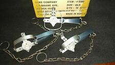 3 New Duke # 0 Long Spring Traps Mink Muskrat Trapping Survival Traps