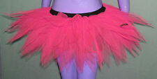 Adult UV Neon Hot Pink Tutu Skirt 7 Layers Clubwear Dance Christmas Party Dress