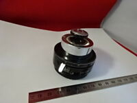 WILD SWISS CONDENSER + IRIS M20 HEERBRUGG MICROSCOPE PART OPTICS AS IS &lob