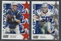 2019 Score Football CAPTAINS Insert COMPLETE YOUR SET You Pick!