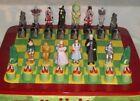 **RARE** Star Jar Wizard Of Oz Chess Cookie Jar S & P Complete  Set