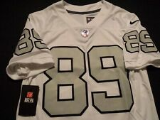 NWT Amari Cooper #89 Oakland Raiders Nike White Sewn NFL Jersey Mens Small New