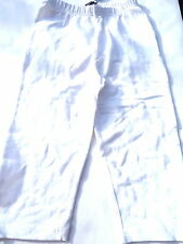 CICLISTA/caprilegging, blanco V. Mills talla 140 + 152