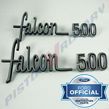 FALCON 500 Rear Quarter Badge Set x4 NEW for XW XY Ford Falcon 351 302 GS guard