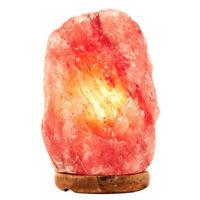USA Natural Himalayan Salt Lamp Hand Carved Crystal Glow Rock Lamp (4 - 6lbs )