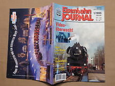 Eisenbahn Journal 1 / 1995, Die 628 in Sachsen, BR 50, Roco etc.
