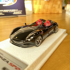 BBR 1:43 Ferrari Monza SP2 Metal Black Car Model Limited Simulation Replica
