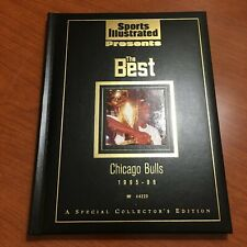 Michael Jordan Sports Illustrated Hard Cover The Best 95-96 Limited Edition
