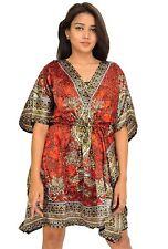 Short Kaftan Dress Hippy Boho Maxi Plus Size Women Caftan Tunic Dress Night Gown