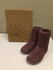 Ugg Australia Classic Short Boots Purple Sheepskin 5825 Size 5