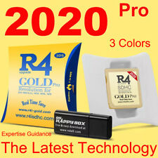 R4 Gold Pro SDHC for DS/3DS/2DS/ Revolution Cartridge With 8/16/32G USB Adapter