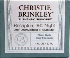 CHRISTIE BRINKLEY Recapture 360 NIGHT Treatment Anti-Aging 1 oz, New in Box