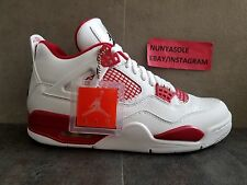 Nike Mens Air Jordan Retro 4 Alternate 89 Red White Shoes (308497 106) Size: 9
