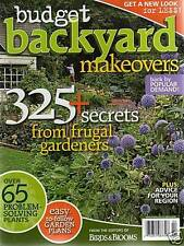 NEW BOOK:  BUDGET BACKYARD MAKEOVERS Great ideas +FREE $10 GIFT w/ $19.98 order!