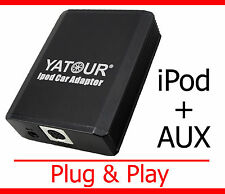 IPod iPhone AUX adaptador honda accord cl cm cn Civic PE FK fn jazz ge Interface