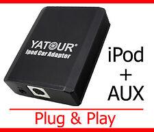 iPod iPhone Aux Adapter Toyota Auris Corolla E110 E120 Yaris P1 XP9 Verso MR2