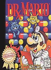 DR MARIO DOCTOR NINTENDO GAME ORIGINAL CLASSIC SYSTEM NES HQ