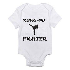 KUNG FU FIGHTER - Karate / Martial Arts / Sports / Humorous Baby Grow / Suit
