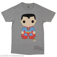 Superman Funko Pop DC Comics Licensed Adult T Shirt