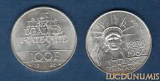 100 Francs – Commémorative – 1986 Liberté – SUP