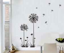Decor Dandelion Flower Removable Bedroom Home Art Wall Sticker Decal
