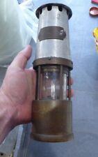 ORIGINAL ANTIQUE J.H NAYLOR LTD WIGAN MINERS SAFETY LAMP