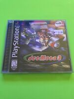 🔥 PS1 PlayStation 1 PSX GAME 💯 COMPLETE WORKING GAME 🔥 JET MOTO 3🔥