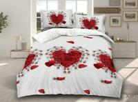 3D Effect Bedding Complete Set 309 With Duvet Cover,Pillow Cases & Fitted Sheet